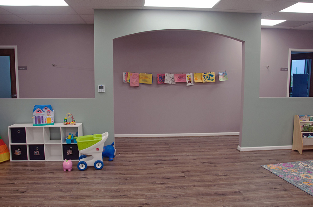 Group Room of ABA Therapy Services in Sugar Land