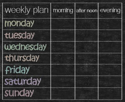 Daily Schedule for Virtual Learning | Apara Autism Center