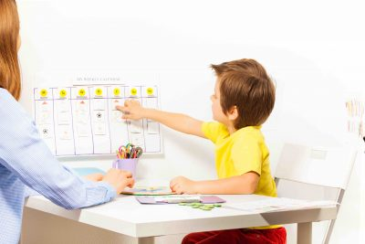 Following A Daily Schedule | Apara Autism Center
